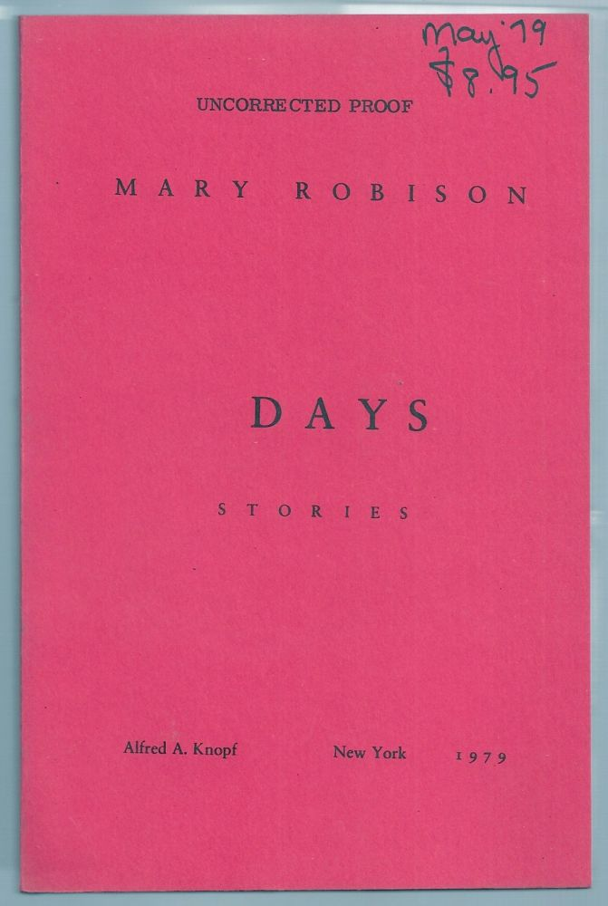 DAYS. Mary ROBISON.