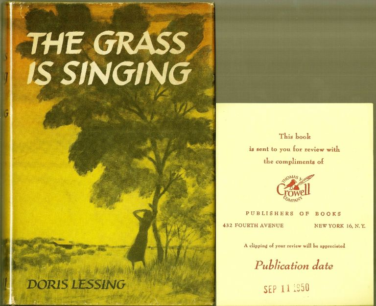 THE GRASS IS SINGING. Doris LESSING.