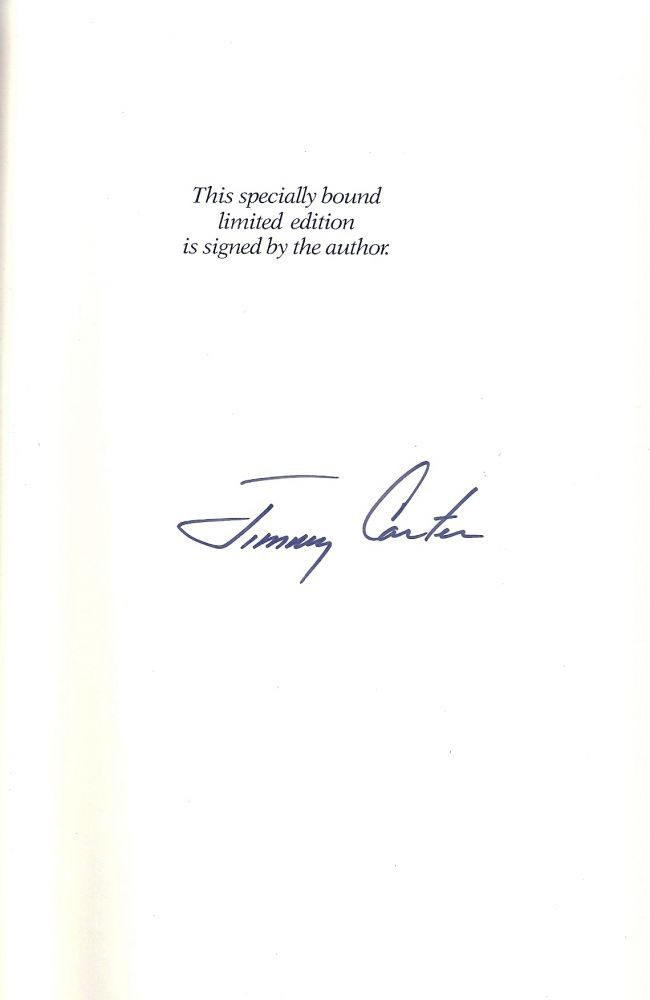 KEEPING FAITH. MEMOIRS OF A PRESIDENT. Jimmy CARTER.