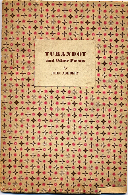 TURANDOT AND OTHER POEMS. John ASHBERY.