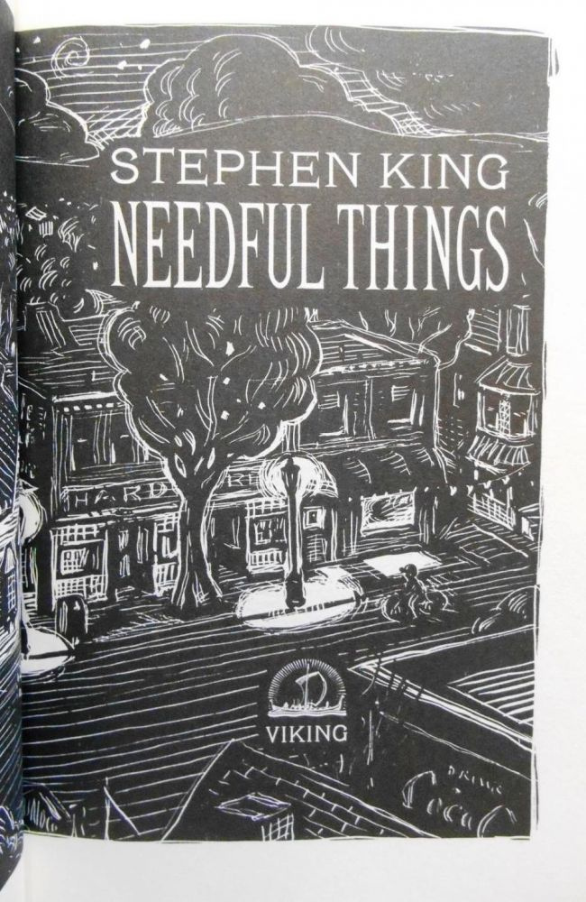 NEEDFUL THINGS. Stephen KING.