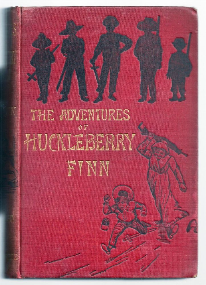 THE ADVENTURES OF HUCKLEBERRY FINN (TOM SAWYER'S COMRADE). SCENE: THE MISSISSIPPI VALLEY. TIME: FORTY TO FIFTY YEARS AGO. Mark TWAIN, Samuel CLEMENS.