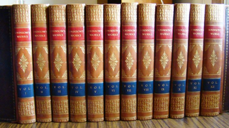 THE WORKS OF SAMUEL JOHNSON, LL.D. TO WHICH IS PREFIXED AN ESSAY ON HIS LIFE AND GENIUS BY ARTHUR MURPHY. Samuel JOHNSON.