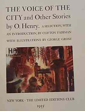 THE VOICE OF THE CITY AND OTHER STORIES. O. HENRY.