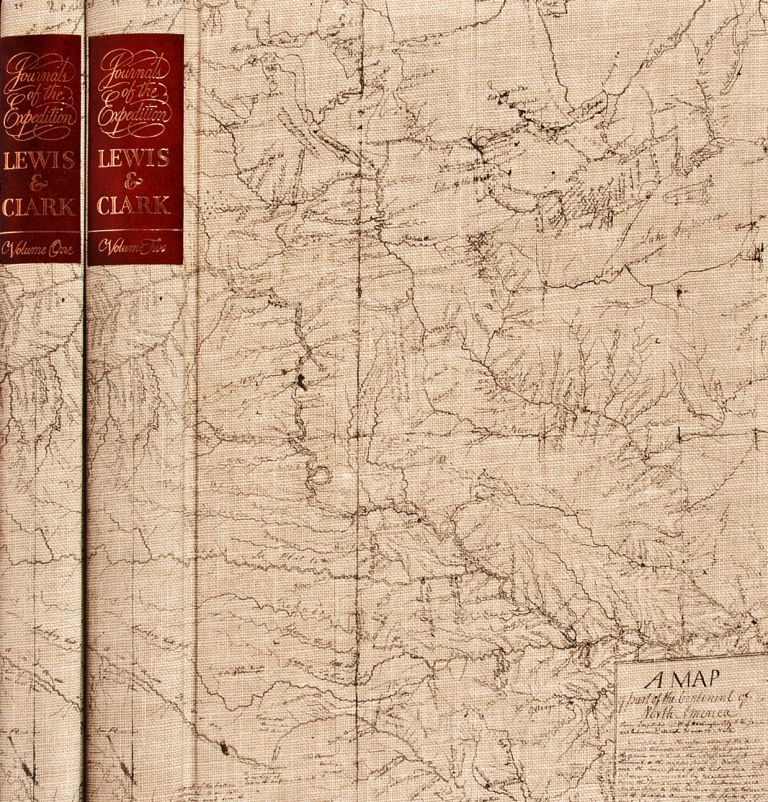 THE JOURNALS OF THE EXPEDITION UNDER THE COMMAND OF CAPTS. LEWIS AND CLARK TO THE SOURCES OF THE MISSOURI, THENCE ACROSS THE ROCKY MOUNTAINS AND DOWN THE RIVER COLUMBIA TO THE PACIFIC OCEAN, PERFORMED DURING THE YEARS 1804-5-6 BY ORDER OF THE GOVERNMENT OF THE UNITED STATES. Meriwether LEWIS, William CLARK.