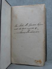 REPORT OF THE EXPLORING EXPEDITION TO THE ROCKY MOUNTAINS IN THE YEAR 1842, AND TO OREGON AND NORTH CALIFORNIA IN THE YEARS 1843-'44. Superb Association Copy Inscribed by James Buchanan to Confederate General John B. Gordon. James BUCHANAN, Brevet Capt. J. C. FREMONT.