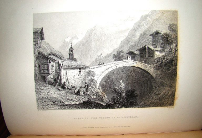 SWITZERLAND. ILLUSTRATED IN A SERIES OF VIEWS TAKEN ON THE SPOT AND EXPRESSLY FOR THIS WORK BY W. H. BARTLETT. William BEATTIE.