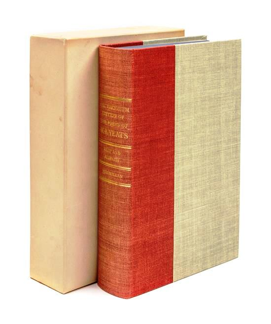 THE VARIORUM EDITION OF THE POEMS OF W. B. YEATS. W. B. YEATS.