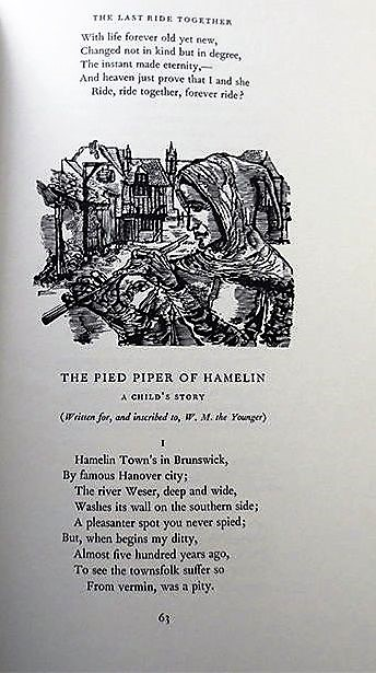 THE POEMS OF ROBERT BROWNING. Robert BROWNING.