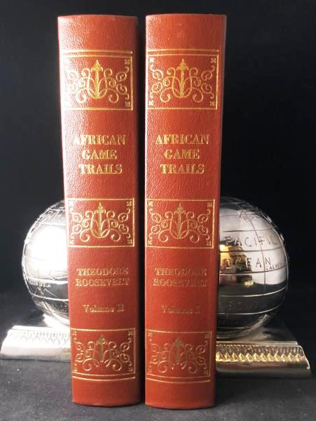AFRICAN GAME TRAILS. AN ACCOUNT OF THE AFRICAN WANDERINGS OF AN AMERICAN HUNTER-NATURALIST. Theodore ROOSEVELT, Teddy.