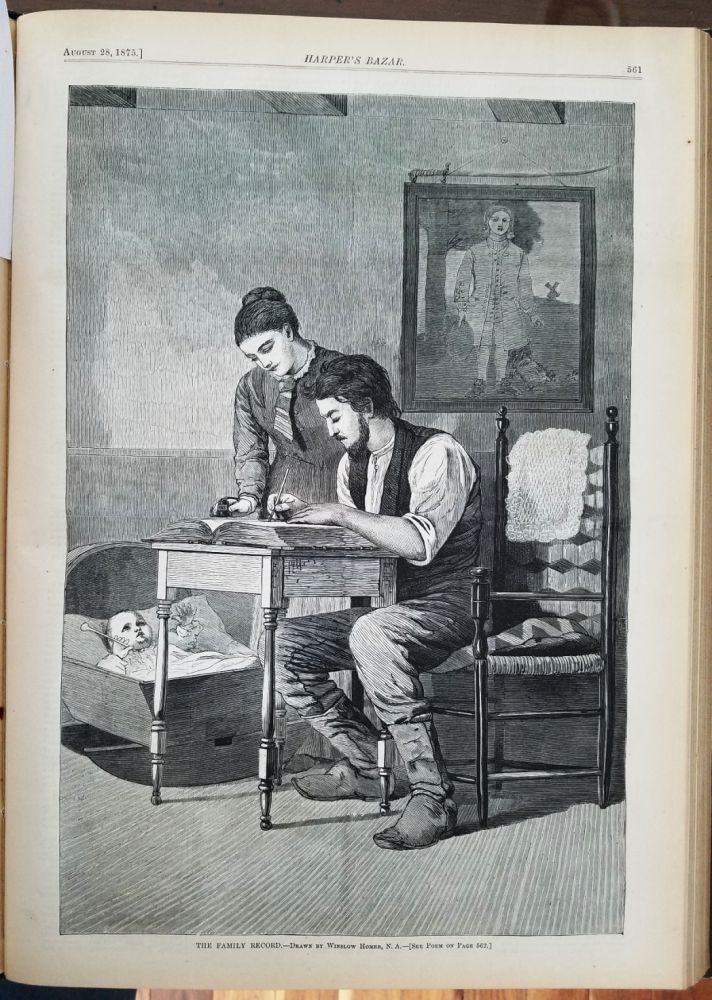 HARPER'S BAZAR: A REPOSITORY OF FASHION, PLEASURE, AND INSTRUCTION. Volume VIII. Winslow HOMER.