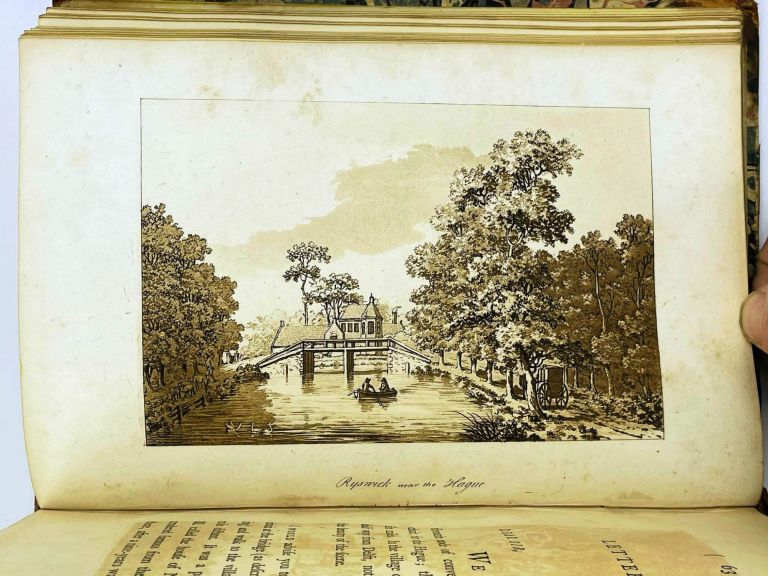 A PICTURESQUE TOUR THROUGH HOLLAND, BRABANT, AND PART OF FRANCE; Made in the Autumn of 1789. Volume I only of II. Samuel IRELAND.