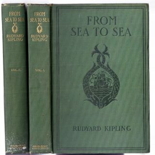 FROM SEA TO SEA. Rudyard KIPLING