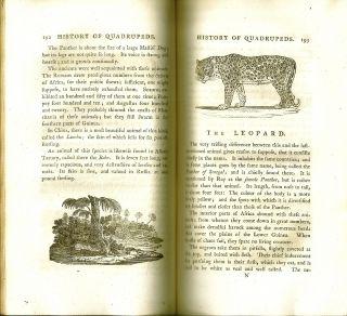A GENERAL HISTORY OF QUADRUPEDS. Thomas BEWICK