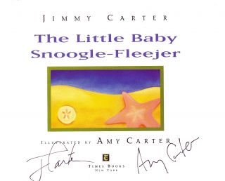 THE LITTLE BABY SNOOGLE-FLEEJER. Jimmy CARTER