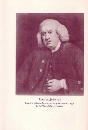 THE LIFE OF SAMUEL JOHNSON, LL.D. James BOSWELL