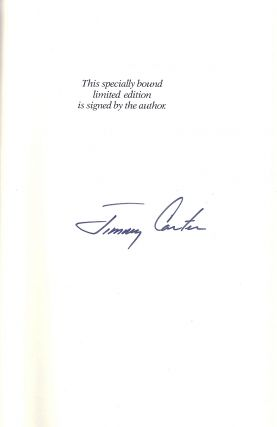 KEEPING FAITH. MEMOIRS OF A PRESIDENT. Jimmy CARTER
