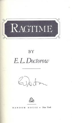 RAGTIME. E. L. DOCTOROW
