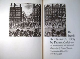 THE FRENCH REVOLUTION. Thomas CARLYLE