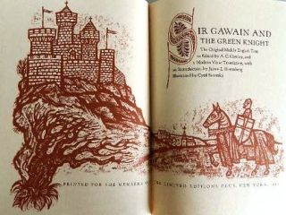 SIR GAWAIN AND THE GREEN KNIGHT. The Original Middle English Text