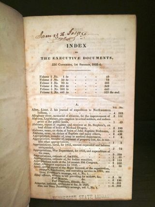 EXECUTIVE DOCUMENTS FOR THE HOUSE OF REPRESENTATIVES]. James POLK