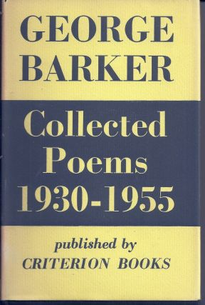 COLLECTED POEMS 1930 - 1955. George BARKER