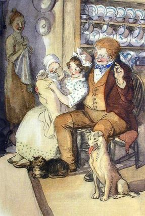 THE CRICKET ON THE HEARTH. Charles DICKENS