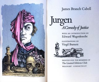 JURGEN. A COMEDY OF JUSTICE. James Branch CABELL