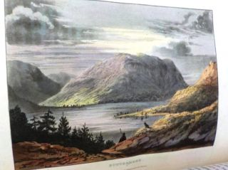 A PICTURESQUE TOUR OF THE ENGLISH LAKES, CONTAINING A DESCRIPTION OF THE MOST ROMANTIC SCENERY OF...