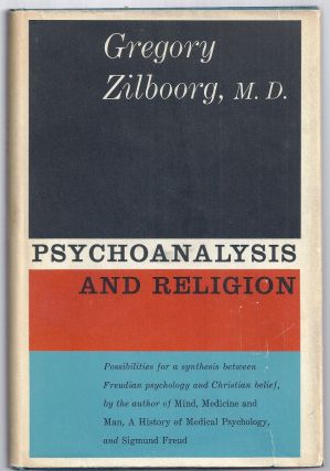 PSYCHOANALYSIS AND RELIGION. Eleanor ROOSEVELT, Gregory ZILBOORG