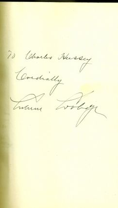 THE AUTOBIOGRAPHY OF CALVIN COOLIDGE. Calvin COOLIDGE