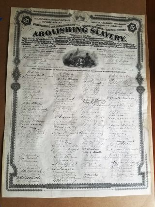 THIRTEENTH AMENDMENT. JOINT RESOLUTION OF THE THIRTY EIGHTH CONGRESS ... PROPOSING AN AMENDMENT...
