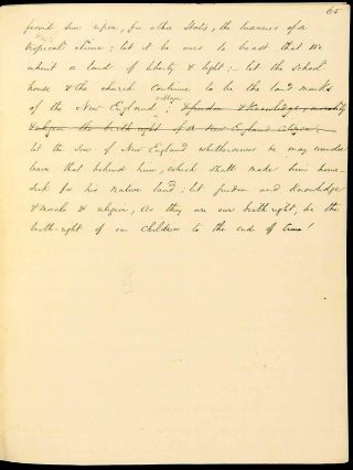 ORIGINAL MANUSCRIPT: AN ADDRESS DELIVERED BEFORE THE LITERARY SOCIETIES OF AMHERST COLLEGE, ON...