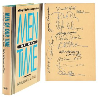 MEN OF OUR TIME. AN ANTHOLOGY OF MALE POETRY IN CONTEMPORARY AMERICA